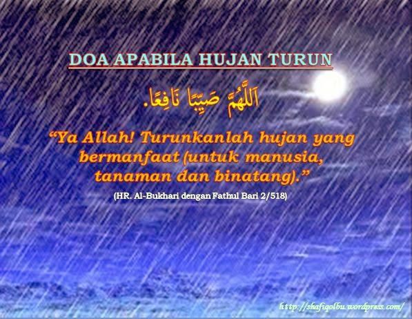 Kata Kata Tentang Hujan Dalam Islam